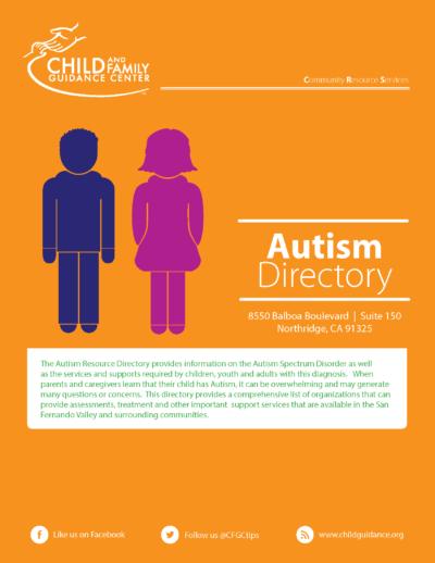 Autism Resource directory