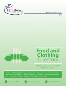 Food and Clothing Directory