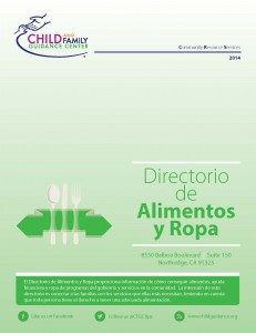 Food and Clothing Directory (Spanish)