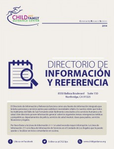 Information and Referral Directory (Spanish)