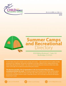 Summer Camps and Recreational Directory