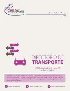 Transportation Directory (Spanish)