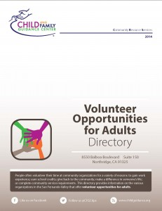 Volunteer Opportunities for Adults Directory