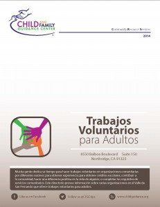 Volunteer Opportunities for Adults Directory (Spanish)