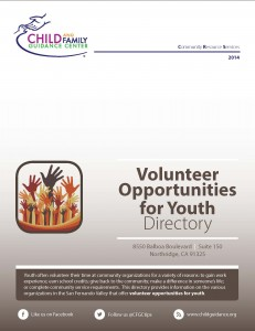 Volunteer Opportunities for Youth Directory