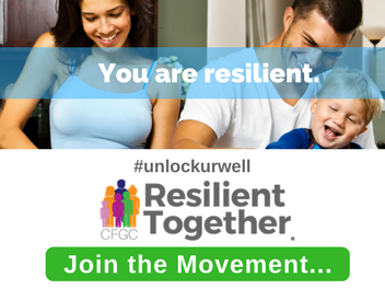 How do you #UnlockURWell of strength?