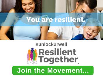 How do you #UnlockURWell of strength?